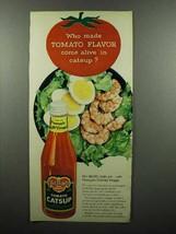 1959 Del Monte Tomato Catsup Ad - Flavor Come Alive - $14.99