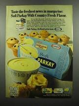 1970 Kraft Parkay Margarine Ad - Freshest News - $14.99