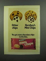 1973 Hershey's Mini Chips Chocolate Chips Ad - $14.99