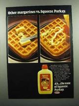 1977 Kraft Squeeze Parkay Margarine Ad - $14.99