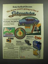 1978 Kraft Macaroni & Cheese Dinner Ad - Going to Like It - $14.99