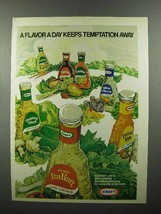 1978 Kraft Salad Dressing Ad - A Flavor A Day - $14.99