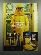 1980 Kraft Macaroni & Cheese Dinner Ad - Please - $14.99