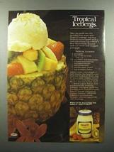 1980 Kraft Mayonnaise Ad - Tropical Icebergs - $14.99