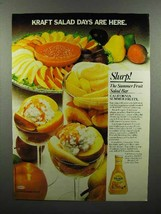 1980 Kraft French Dressing Ad - Salad Days are Here - $14.99