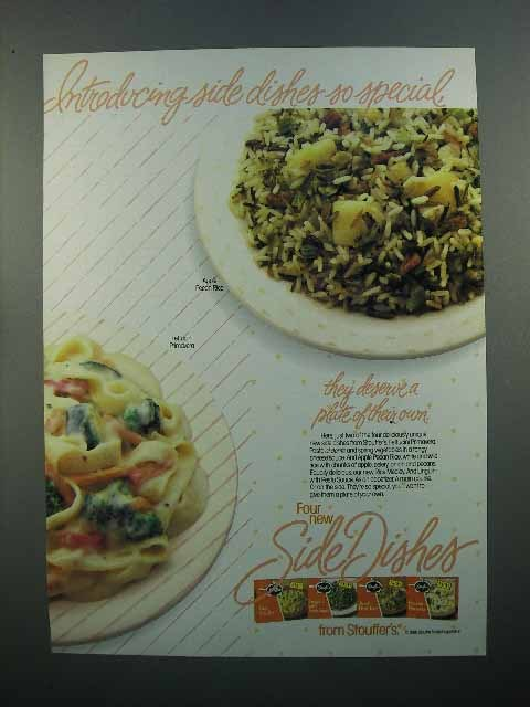1986 Stouffer's Side Dishes Ad - So Special