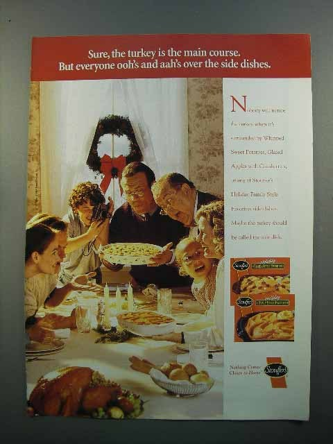 1997 Stouffer's Side Dishes Ad - Everyone Ooh's, Aah's