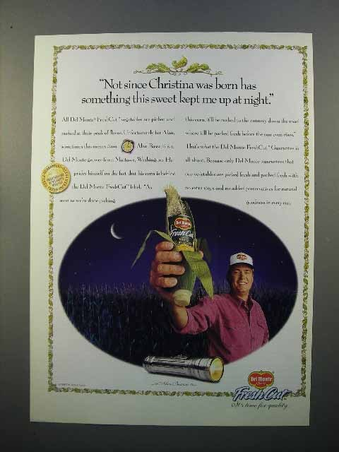 1998 Del Monte Fresh Cut Corn Ad - Kept Me Up At Night