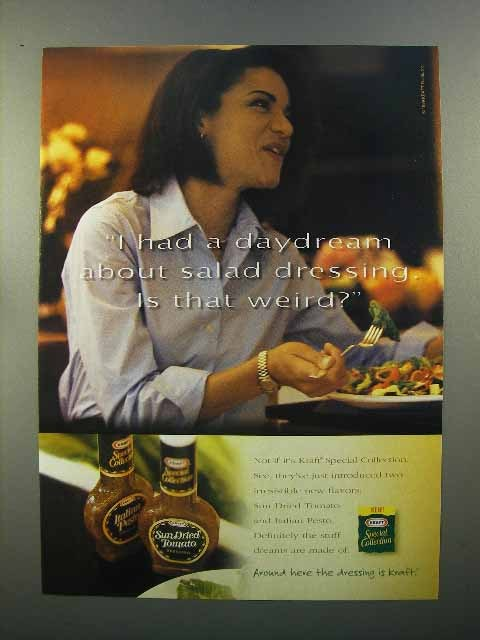 1999 Kraft Special Collection Salad Dressing Ad