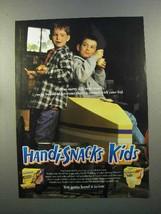 1999 Kraft Handi-Snacks Ad - We're Bound to Have Winner - $14.99