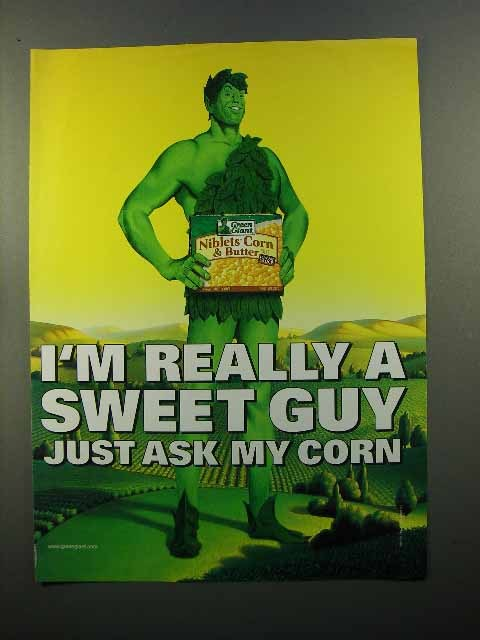 2000 Green Giant Niblets Corn & Butter Ad - Sweet Guy