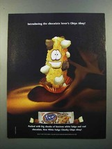 2004 Nabisco Chips Ahoy White Fudge Chunky Cookie Ad - $14.99