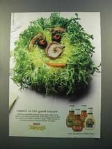 2000 Kraft Taste of Life Salad Dressing Ad - Appeal - $14.99