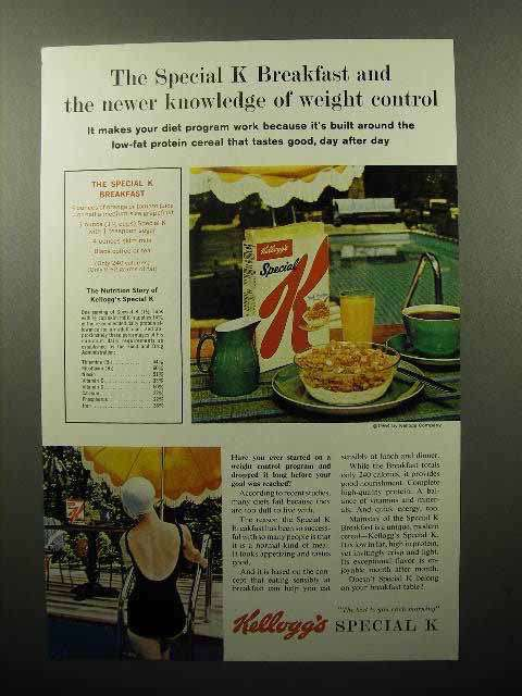 1964 Kellogg's Special K Cereal Ad - Newer Knowledge