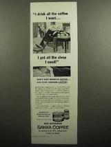 1953 Sanka Coffee Ad - $14.99