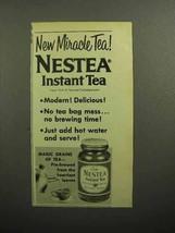 1957 Nestea Instant Tea Ad - New Miracle Tea - $14.99