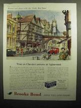 1959 Brooke Bond Tea Ad - Chester Arrows at Agincourt - $14.99
