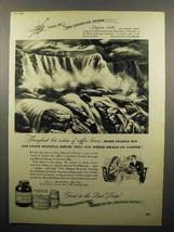 1947 Maxwell House Coffee Ad - Niagara Falls - $14.99