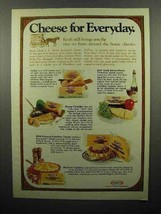 1975 Kraft Cheese Ad - Cheese for Everyday - $14.99