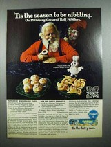 1970 Pillsbury Crescent Rolls Ad - 'Tis the Season - $14.99