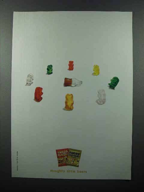 2003 Haribo Gummie Bears Ad - Naughty little Bears
