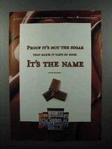 2003 Hershey's Sugar Free Candy Ad - It's The Name - $14.99