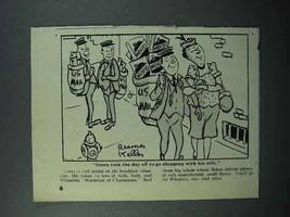 1946 Wheaties Cereal Ad - Jones Took the Day Off - $14.99