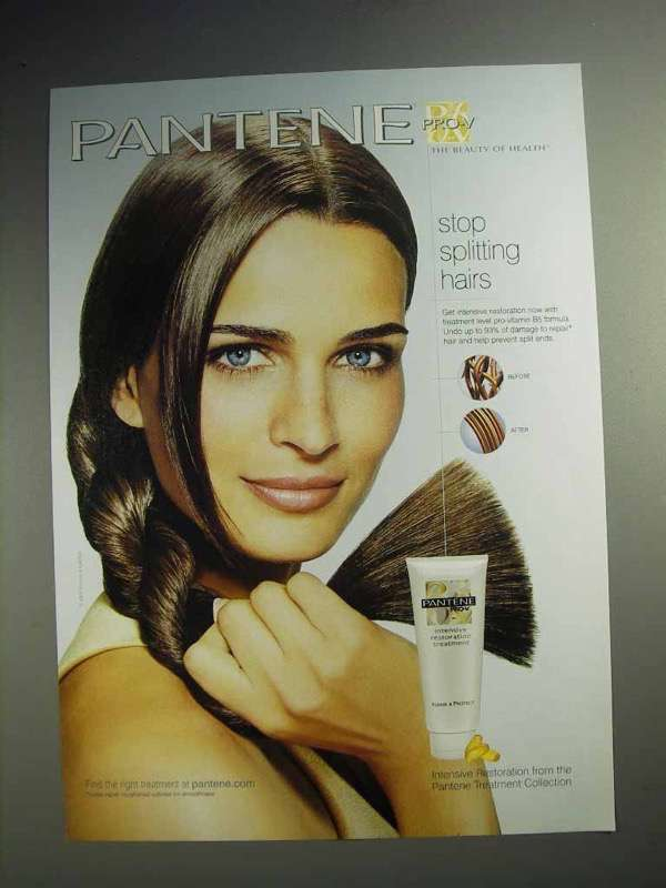 2003 Pantene Pro-V Intensive Restoration Treatment Ad