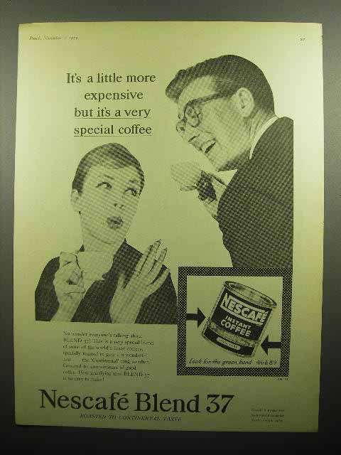 1959 Nescafe Blend 37 Instant Coffee Ad - Special