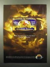 1998 Celestial Seasonings Tension Tamer Tea Ad - $14.99