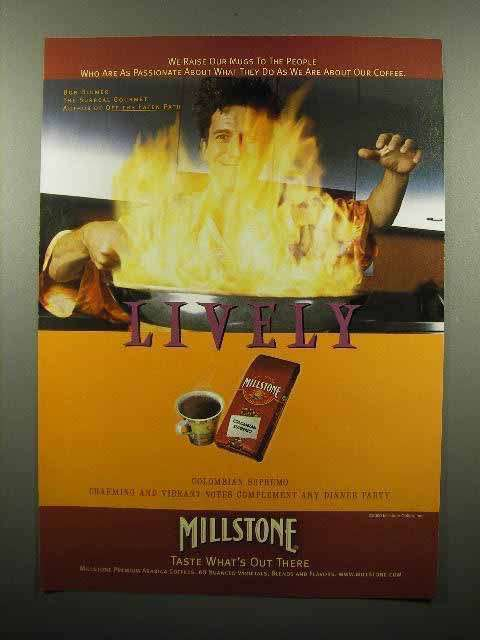 2000 Millstone Coffee Ad - People Who are Passionate