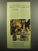 1945 Maxwell House Coffee Ad - Victory Gardening - $14.99