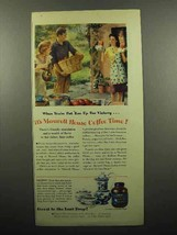 1945 Maxwell House Coffee Ad - Put 'Em Up For Victory - $14.99