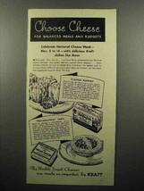 1936 Kraft Old English, Philadelphia Cream Cheese Ad - $14.99