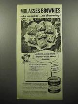 1946 Borden's Eagle Condensed Milk Ad - Brownies - $14.99