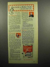 1952 Carnation Evaporated Milk Ad - Be a Better Cook - $14.99
