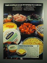 1974 Kraft Parkay Margarine Ad - Re-usable Bowl - $14.99
