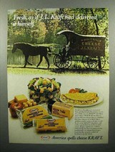 1978 Kraft Cheese Ad - Fresh As if Delivered Himself - $14.99
