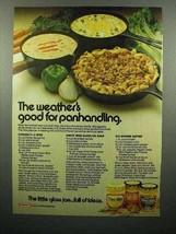 1974 Kraft Cheez Whiz Ad - Good For Panhandling - $14.99