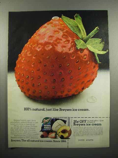 1980 Breyer's Ice Cream Ad