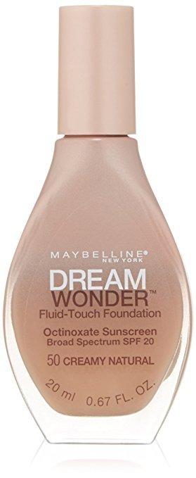 Maybelline Dream Wonder Fluid-Touch Foundation #50 Creamy Natural
