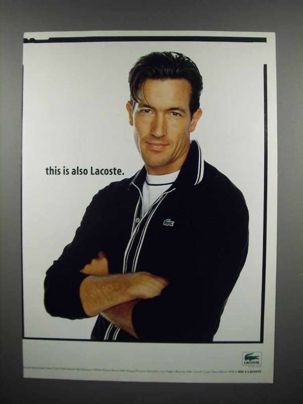 1998 Lacoste Fashion Ad - This is Also Lacoste
