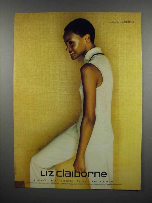 1998 Liz Claiborne Fashion Ad - Endless Possibilities