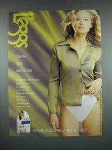 2001 L'eggs Intimates Panty Underwear Ad - $14.99