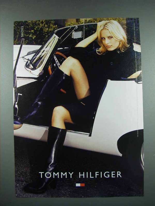 Primary image for 2003 Tommy Hilfiger Fashion Ad - Shoes