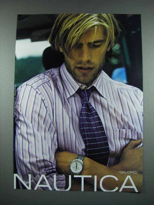 Primary image for 2003 Nautica Fashion Ad