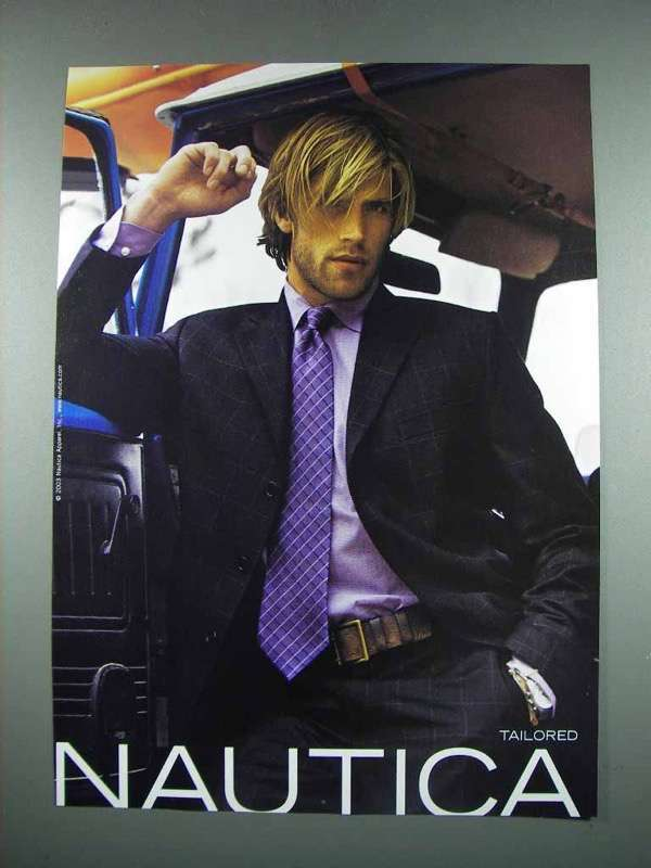 Primary image for 2003 Nautica Designer Fashion Ad