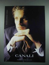 2003 Canali Fashion Ad - $14.99