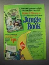 1978 Dole Banana Ad - Walt Disney's Jungle Book - $14.99