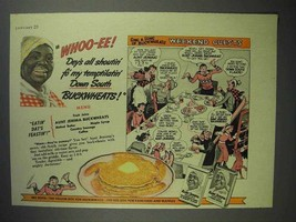 1942 Aunt Jemima Pancake Mix Ad - Weekend Guests - $14.99